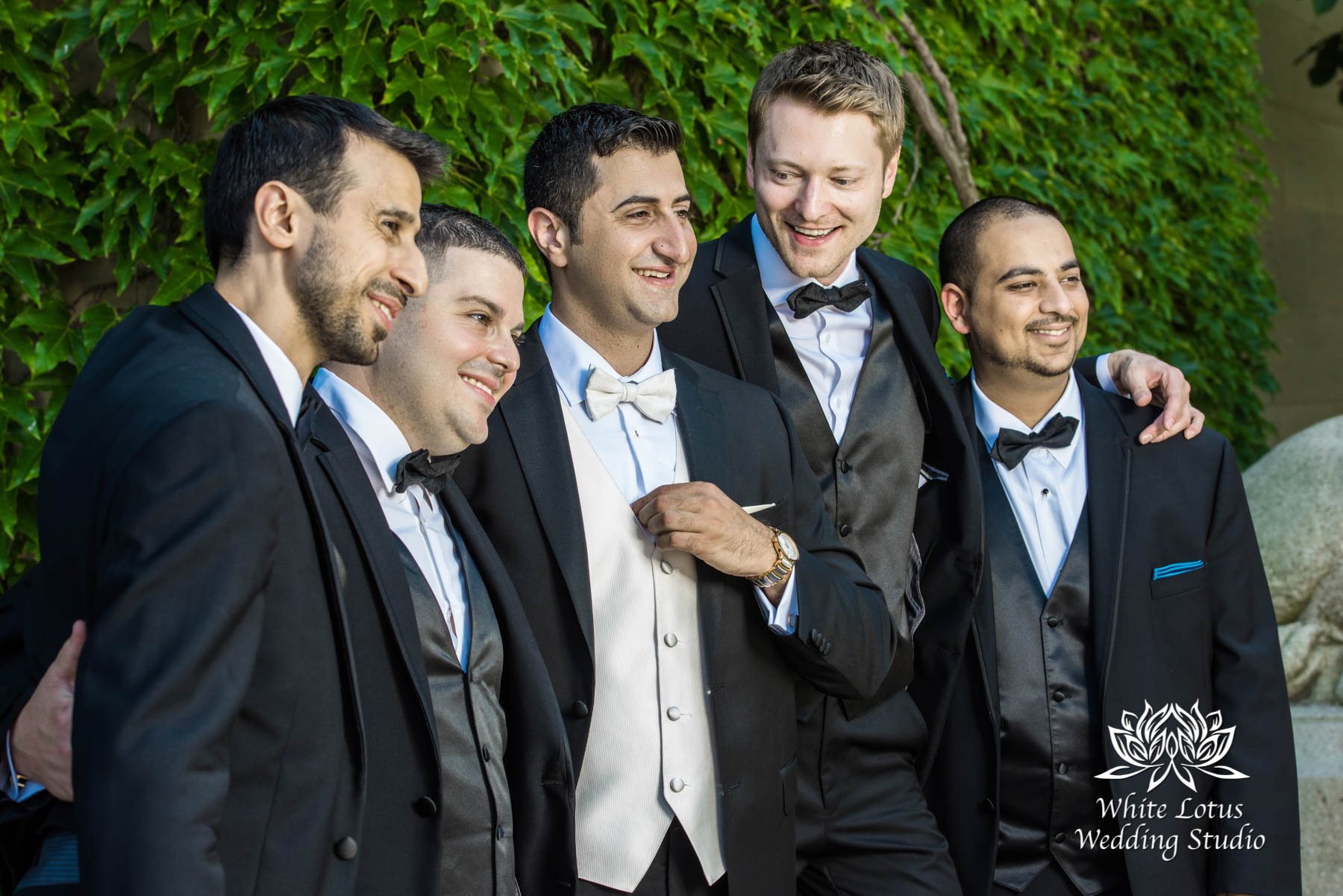 171 - Wedding - Toronto - Liberty Grand - Groomsmen - PW