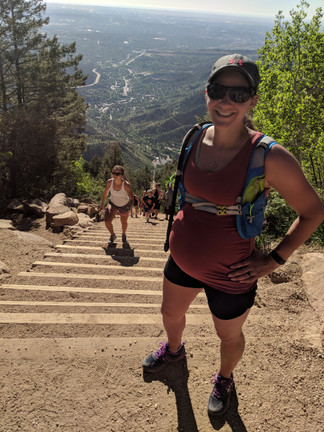 The Thought of Labor Terrifies Me + We Did the Incline!