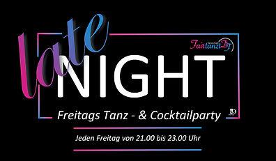 Fairtanzt Tanzschule Late Night