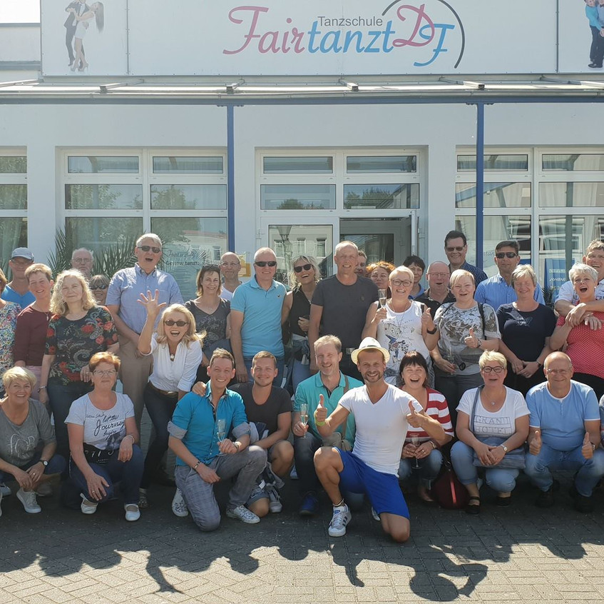 ADTV Tanzschule Fairtanzt Tanzschulreise 2018