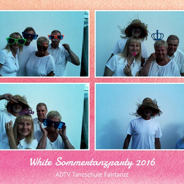 Fairtanzt Selfibox Sommerparty 2016