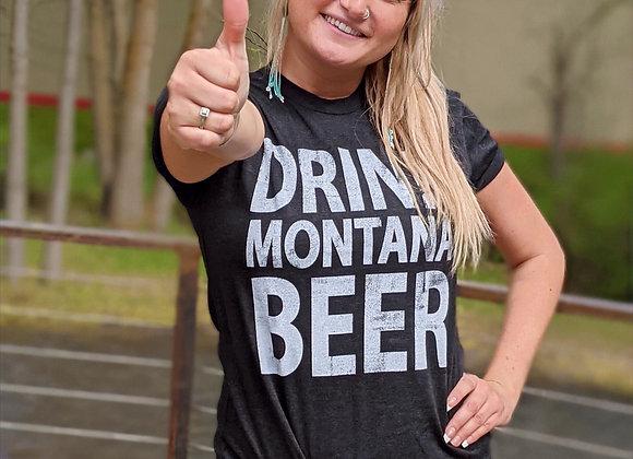 Drink Montana Beer Tee