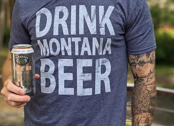 Drink Montana Beer T-Shirt