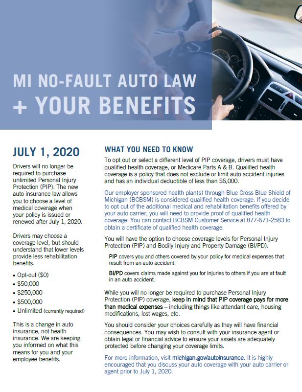 New Law + Benefits