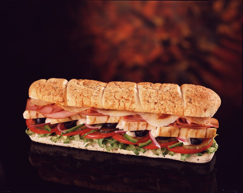 sandwich-subway print ad