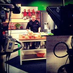 Richard Blais food demos for the final 4