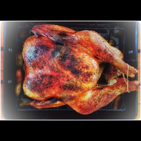 turkey roasted-thanksgiving spread ad for walmart commercial