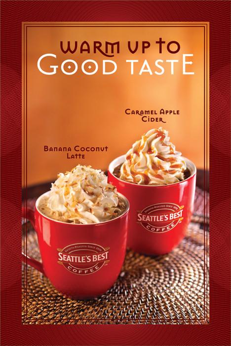 seatles best coffee print advertising