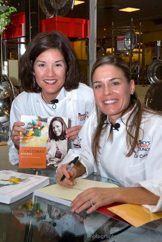 nan mcculloch & cat cora celebrity chef demo For Macys Culinary Council