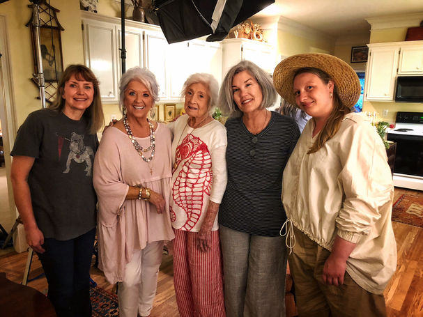 Paula Deen's Mother day special for Fox Nation