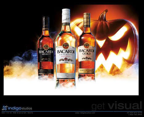 Bacardi_Halloween_print advertising