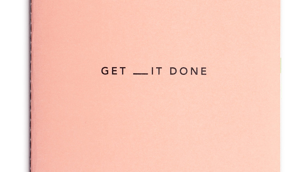 Get __it done A5 notebook