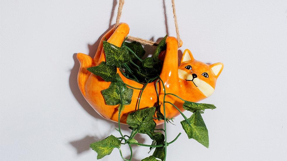 Sass & Belle Hanging Fox Planter