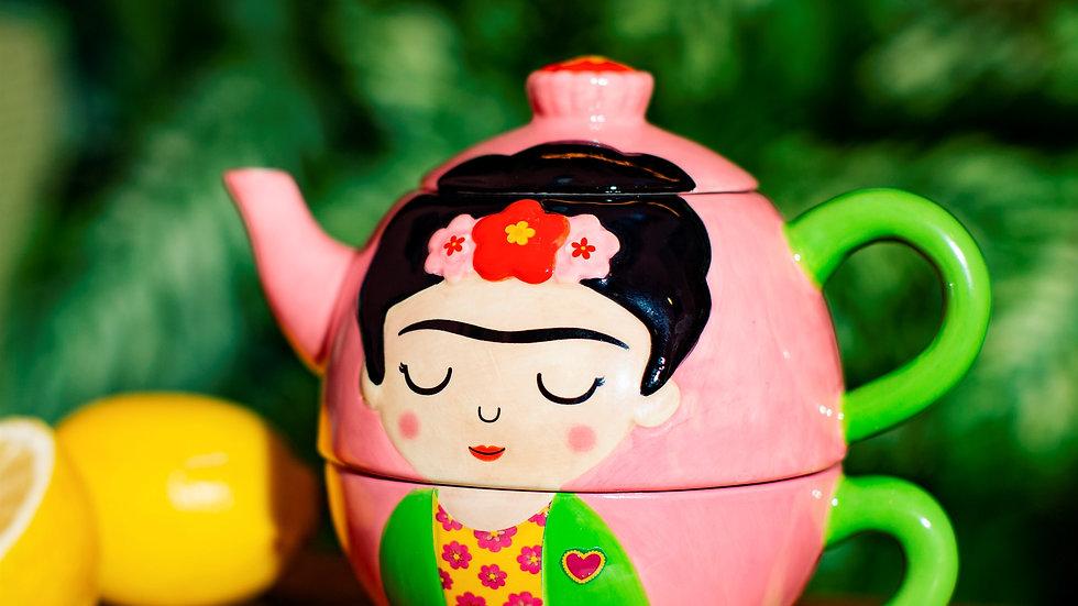 Frida Kahlo Tea for One