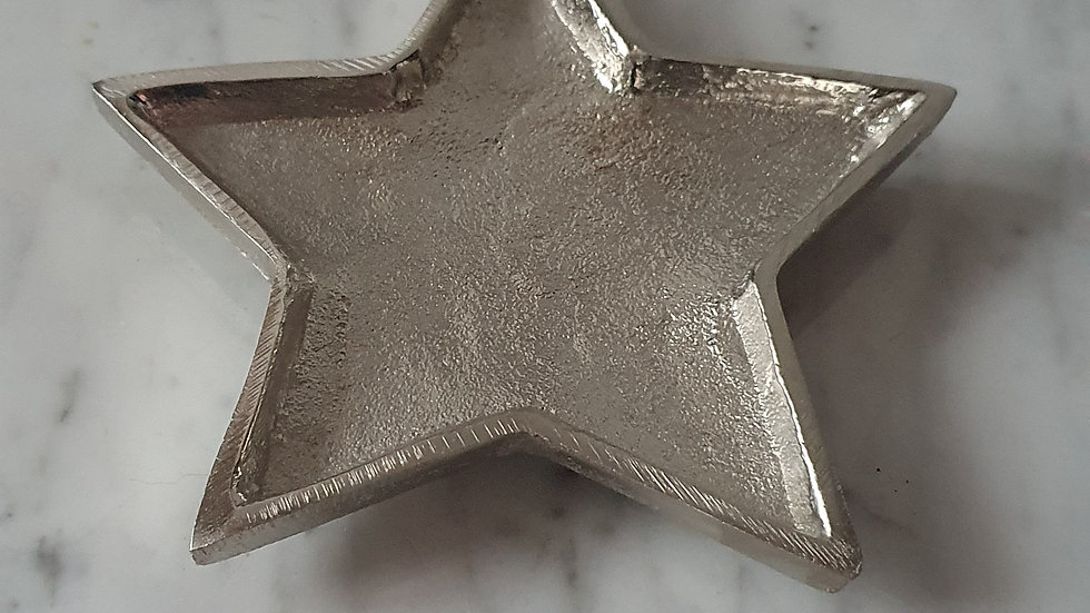 Silver Star Plate