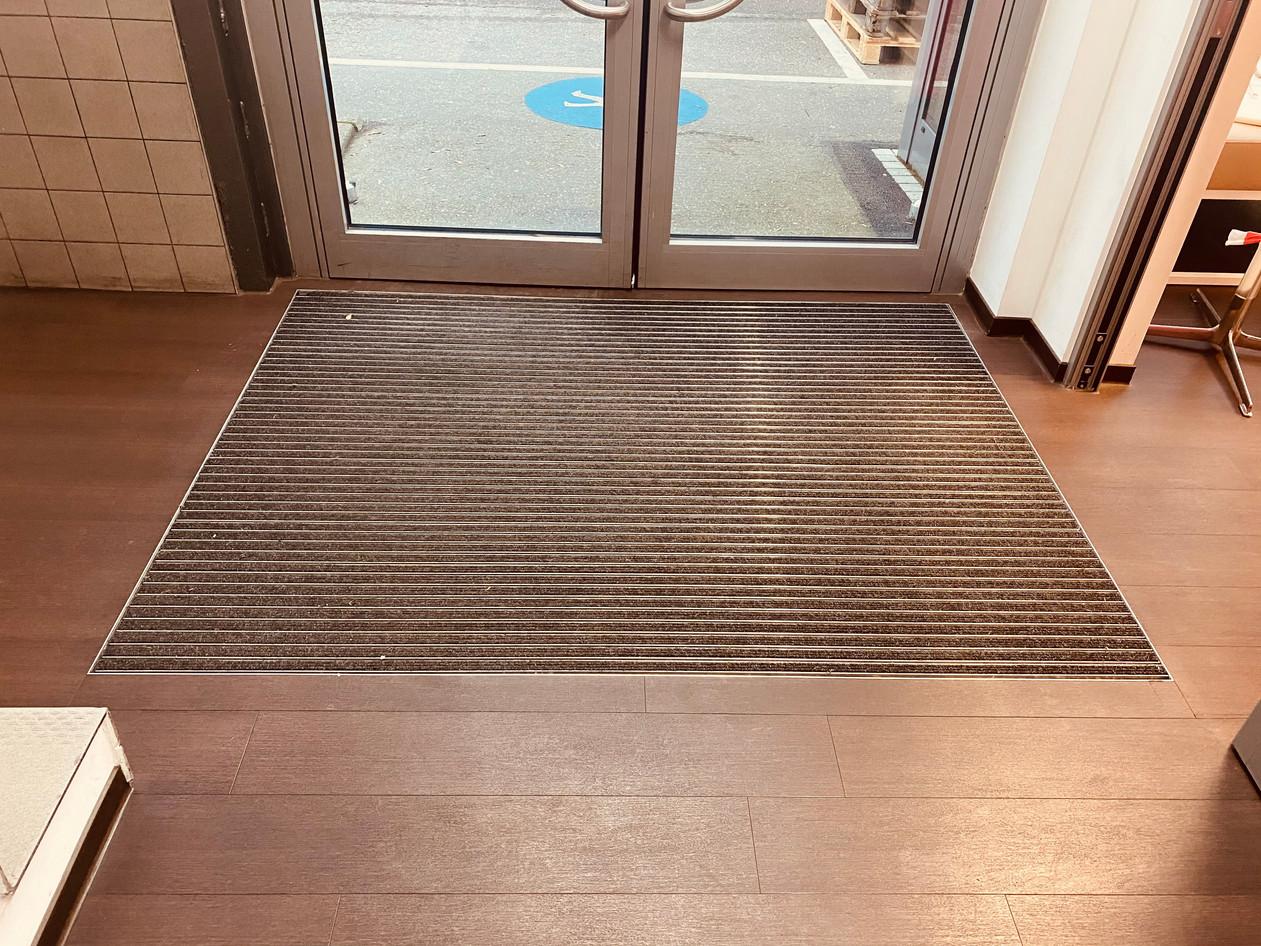 Sauberlaufzone Eingangsbereich
