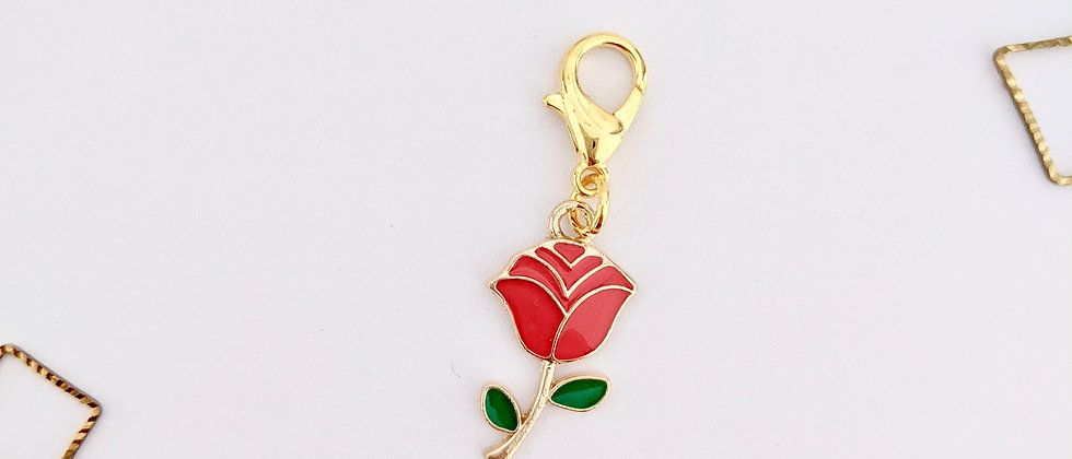 Rose Stitch Marker