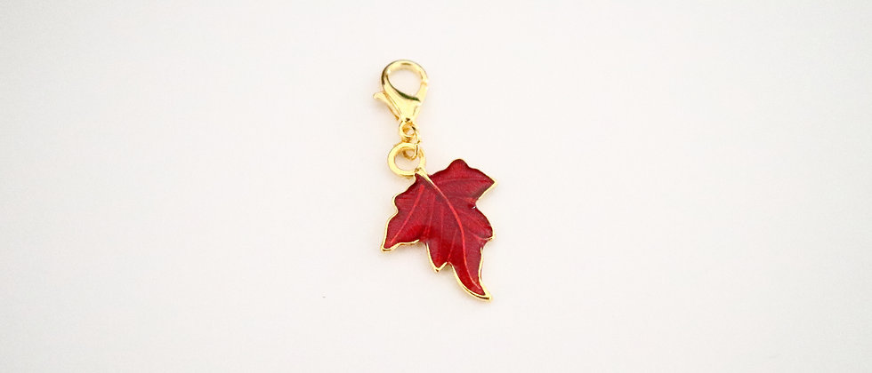 Leaf Stitch Marker
