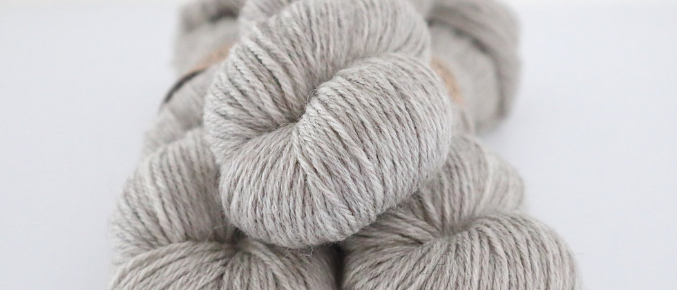 Natural -  Falkland Merino DK - Grey