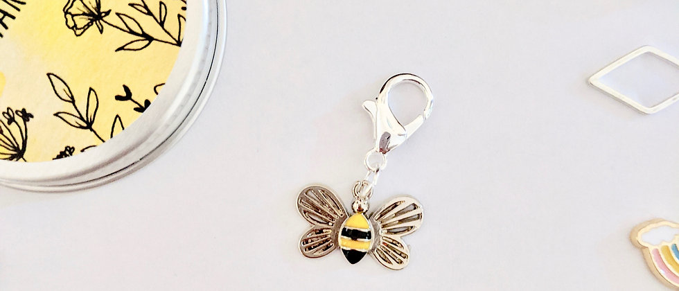 Bee Stitch Marker