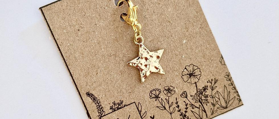 Star stitch marker