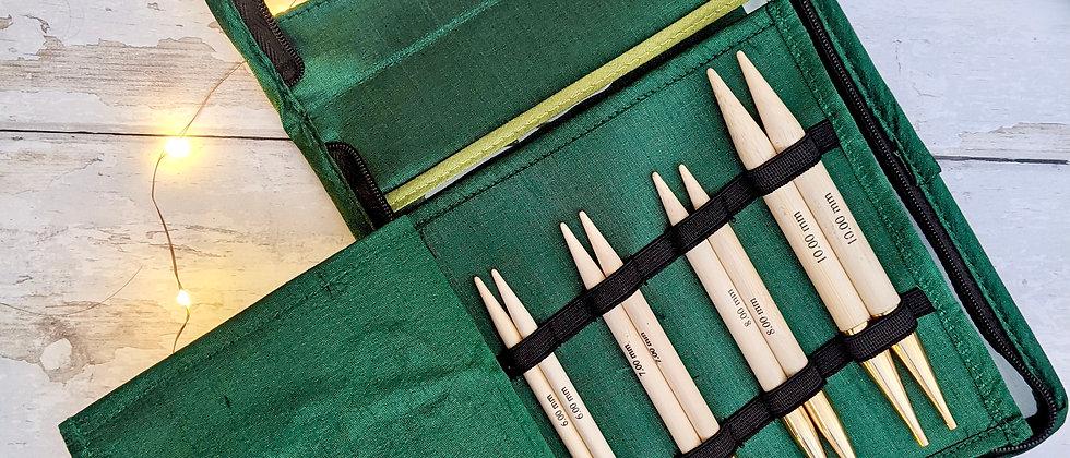 KnitPro Bamboo - Deluxe Interchangeable Needle Set