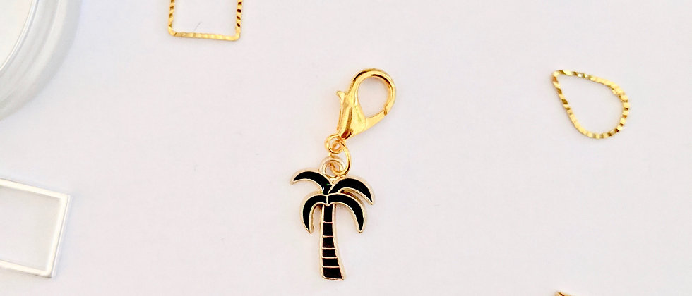 Palm Tree Stitch Marker
