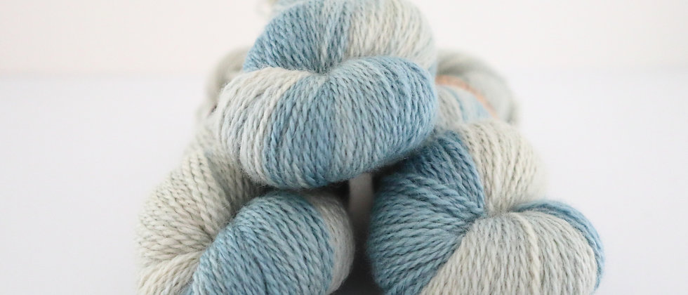 Sea Foam - Bluefaced Leicester 4ply