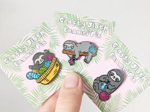 My First Kickstarter: Creating the Crafty Sloths