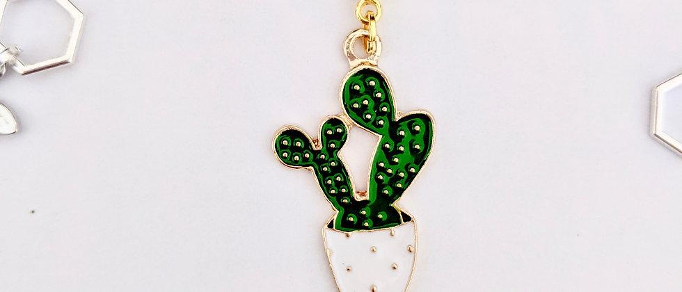 Cactus Stitch Marker