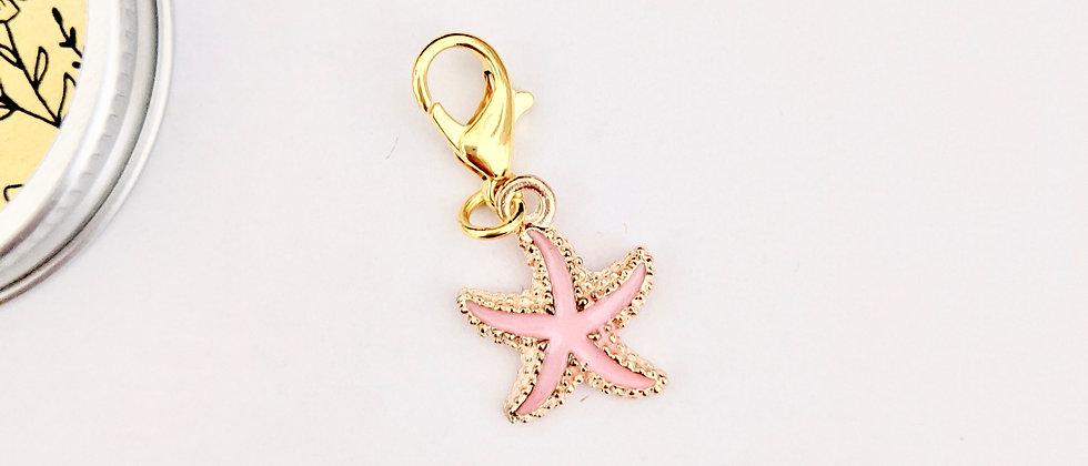 Starfish stitch marker