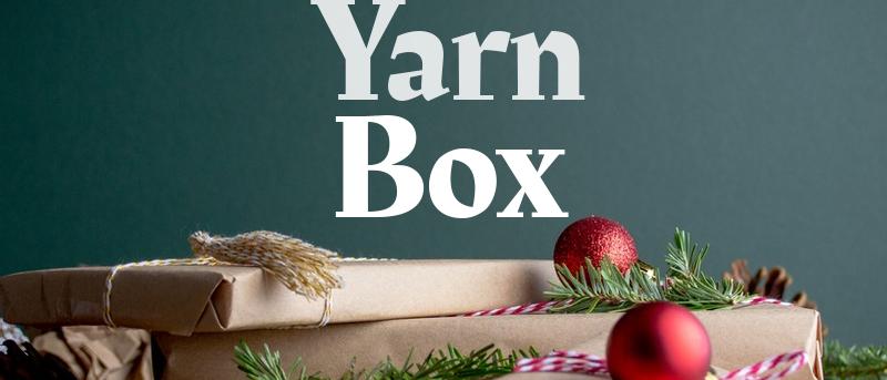 Christmas Yarn Box