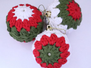 Pattern: Crochet Christmas Baubles