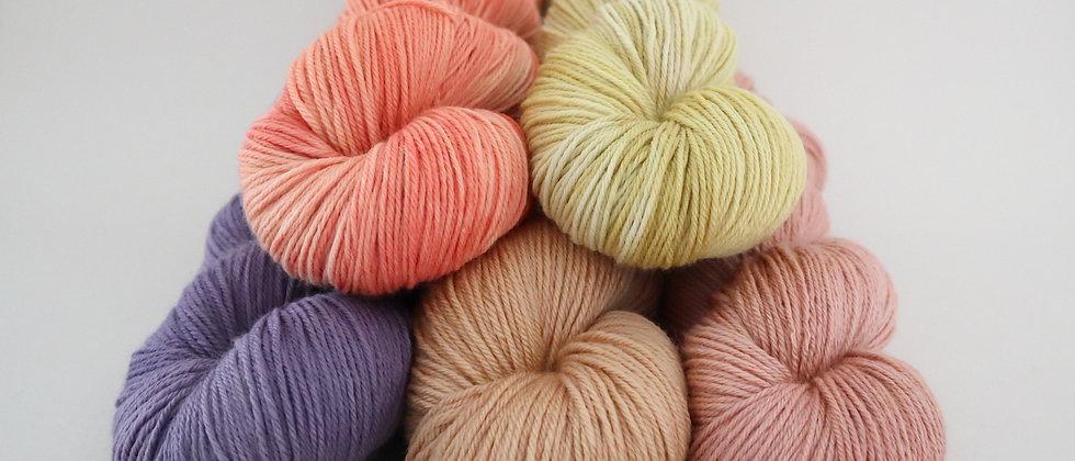 Semi Solids -  Silky Falkland Merino 4ply