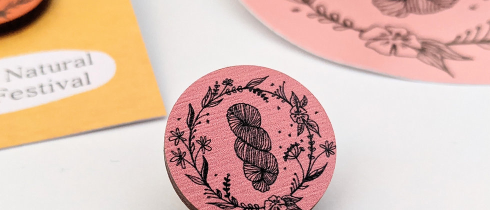 Botanica Wooden Pin