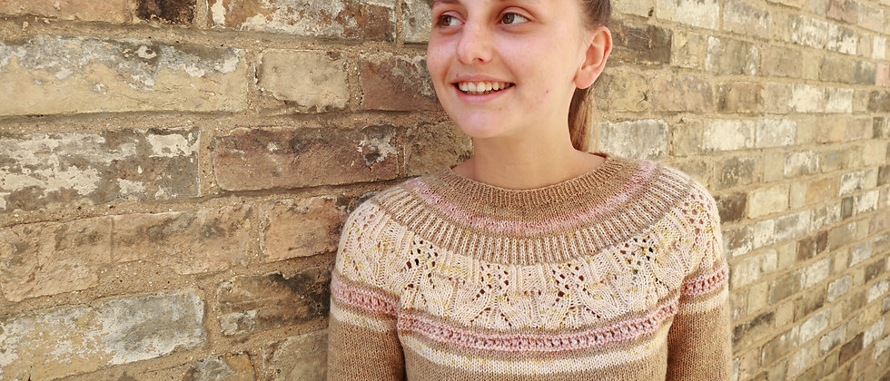 Afternoon Tea Sweater Pattern (English)