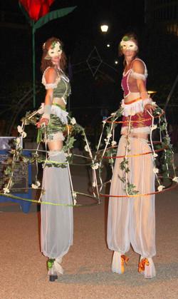 Garden party stilts
