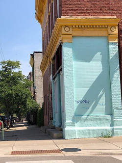 Corner in Pilsen Chicago