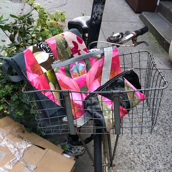 Bags in an Urban Basket
