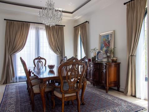Velvet Living Room Drapes - wide