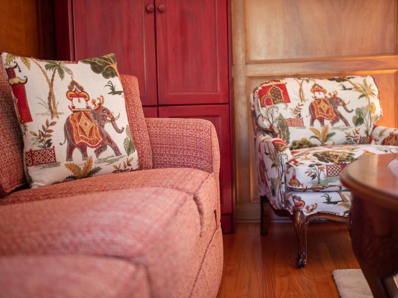 Reupholstered Living Room Furniture