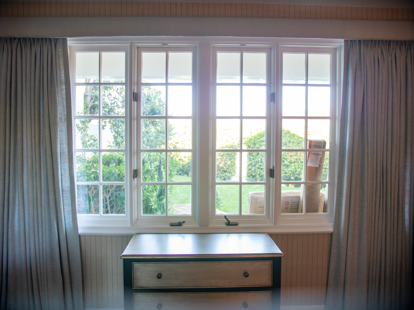 Drapes and Cornice Box