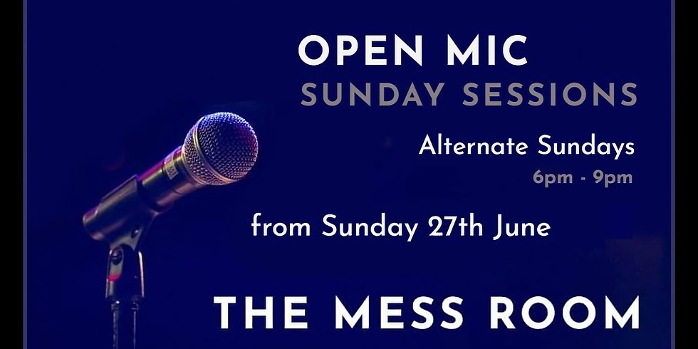 Open Mic - Sunday Sessions (1)
