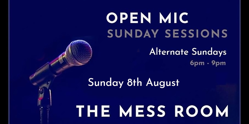 Open Mic - Sunday Sessions (Free Entry)