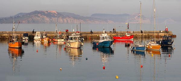 Fishing Boats on Lyme Regis Harbour.jpg