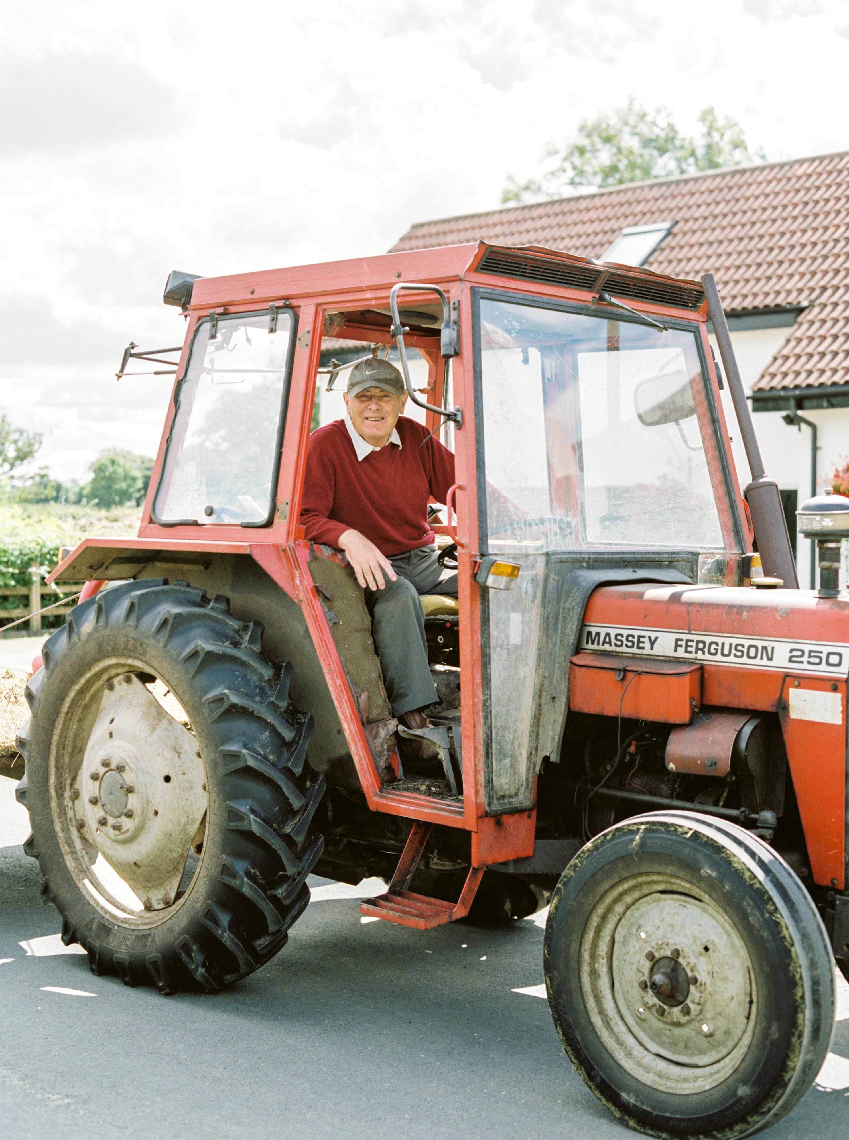 A local farmer