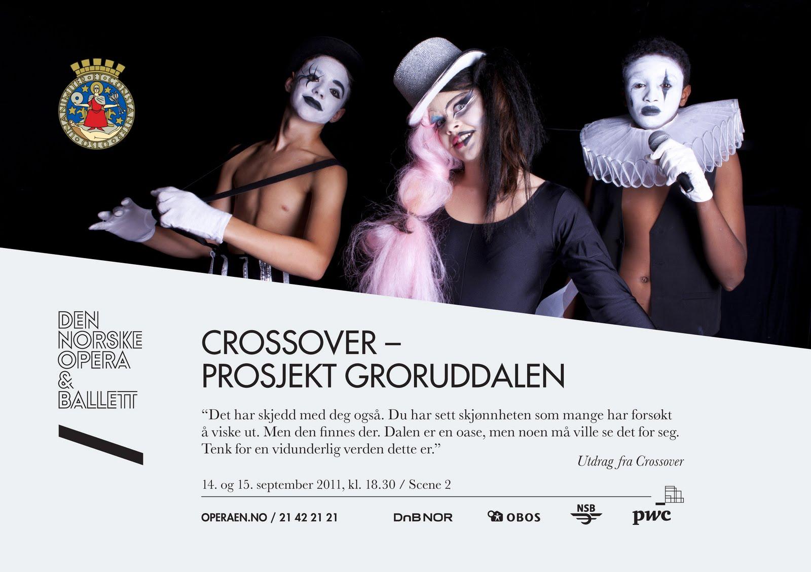 Forestillingen Crossover 2011