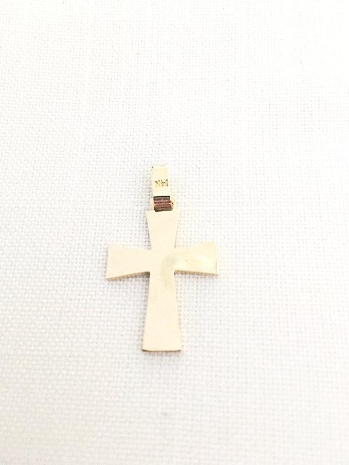 Cross Solid Gold 14k