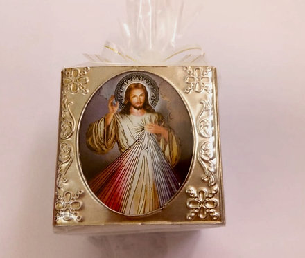 Divine Mercy Cube Candles