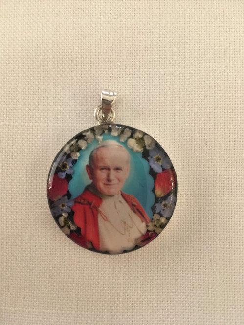Small Pendant - St John Paul II